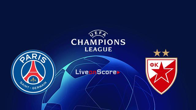 Paris SG vs FK Crvena zvezda Preview and Prediction Live stream UEFA Champions League 2018/2019
