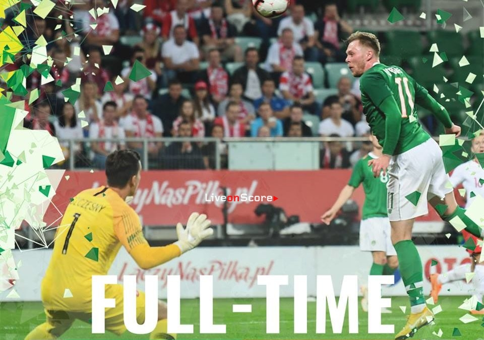 Poland 1-1 Ireland Full Highlight Video – Friendly 2018