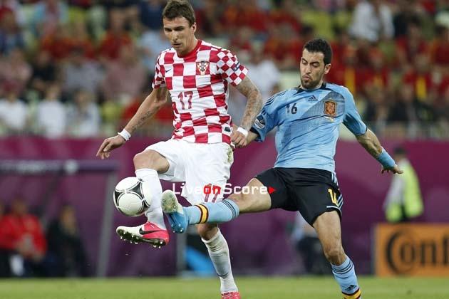 Link trực tiếp Tây Ban Nha vs Croatia, 01h45 ngày 12/9 (UEFA Nations League)
