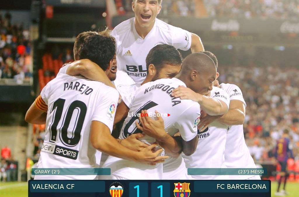 Valencia 1-1 Barcelona Full Highlight Video – LaLiga Santander 2018/2019