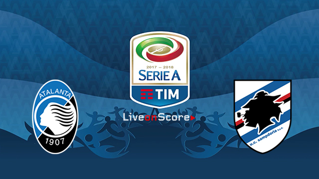 Atalanta vs Sampdoria Preview and Prediction Live stream Serie Tim A 2018/2019