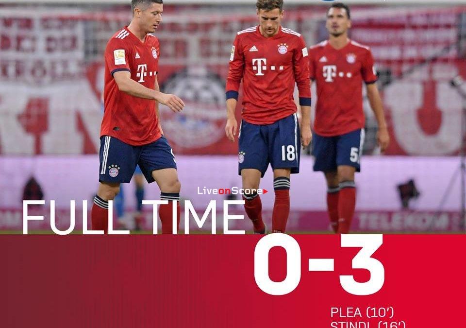 Bayern Munich 0-3 Monchengladbach Full Highlight Video – Bundesliga 2018/2019