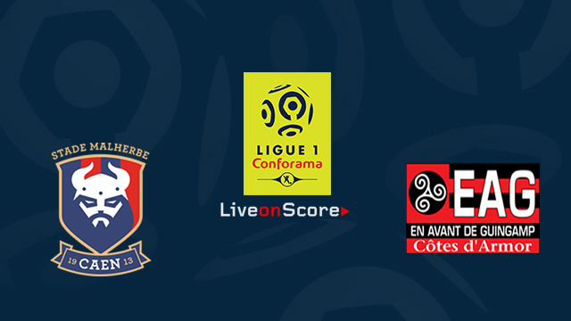 caen vs guingamp preview and prediction live stream france ligue 1 2018 2019. Black Bedroom Furniture Sets. Home Design Ideas