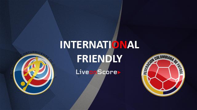 Colombia vs Costa Rica Preview and Prediction Live Stream International Friendly 2018