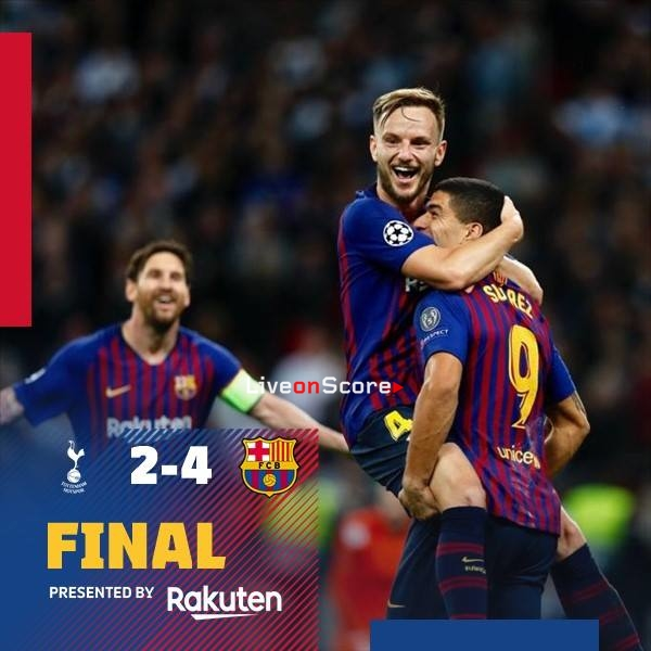 Tottenham Hotspur 2-4 Barcelona Full Highlight Video – Uefa Champions League -2018/2019