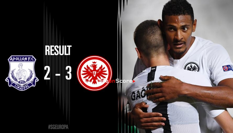 Apollon Limassol 2-3 Eintracht Frankfurt Full Highlight Video – Uefa Europa League 2018/2019