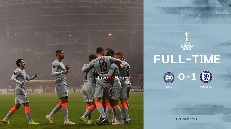 BATE Borisov 0-1 Chelsea Full Highlight Video – Uefa Europa League 2018/2019