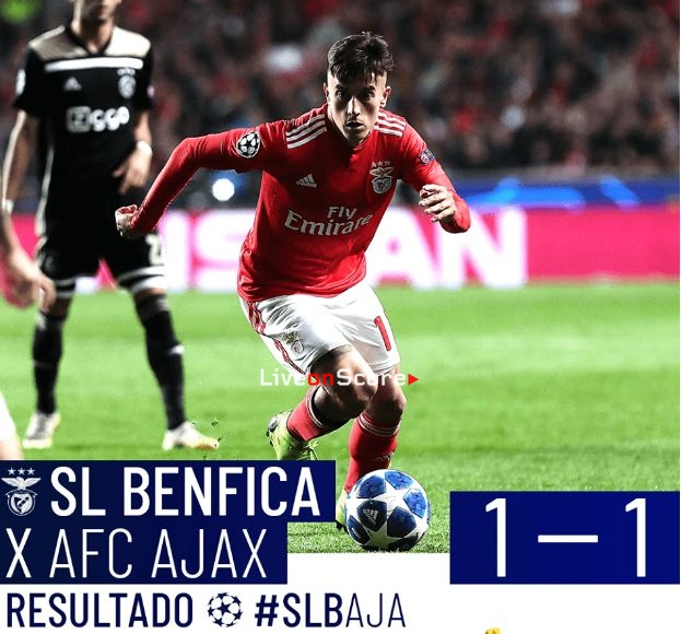 Benfica 1-1 Ajax Full Highlight Video – Uefa Champions League 2018/2019