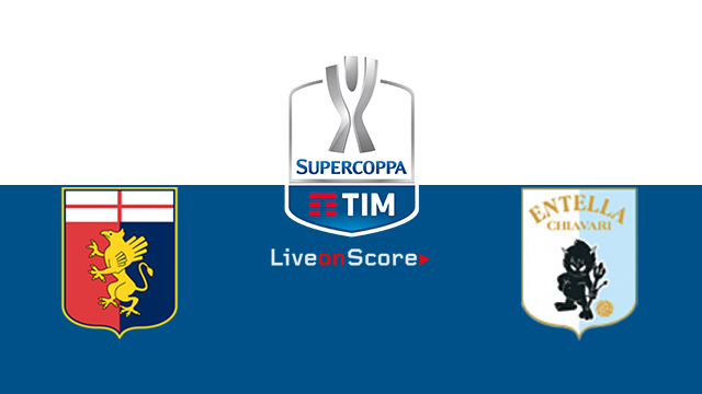 Genoa vs Entella Preview and Prediction Live Stream Coppa Italia 1/16 Finals 2018/2019