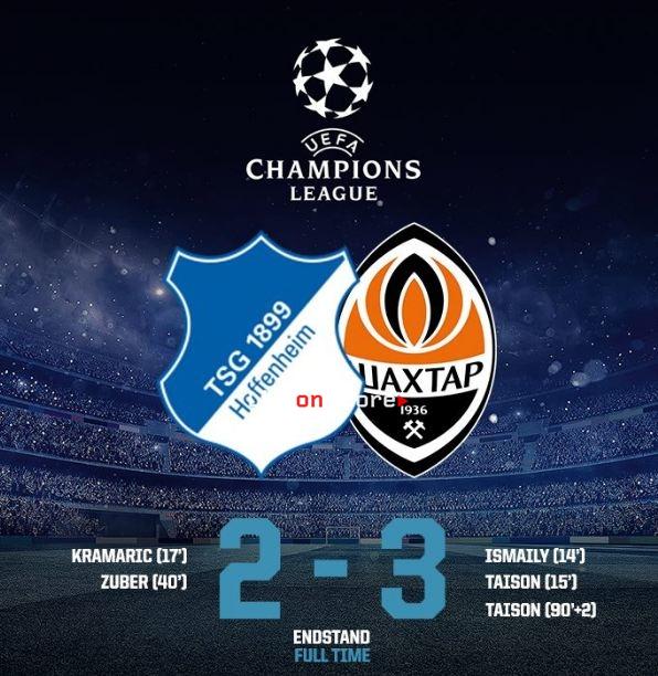 Футбол лига чемпионов бавария шахтер донецк