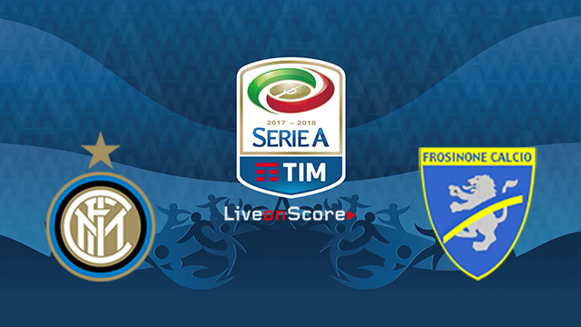 Frosinone vs Inter watch live match streaming Serie A