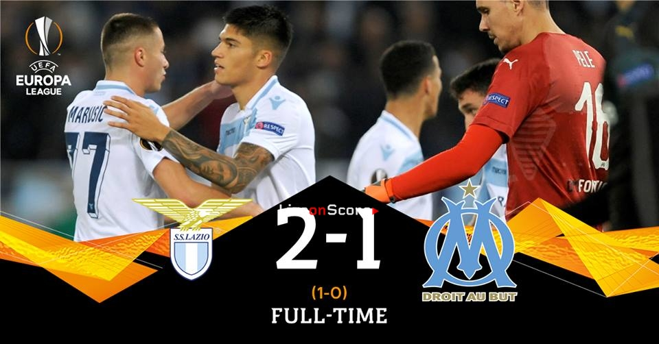 Lazio 2-1 Marseille Full Highlight Video – Uefa Europa League 2018/2019