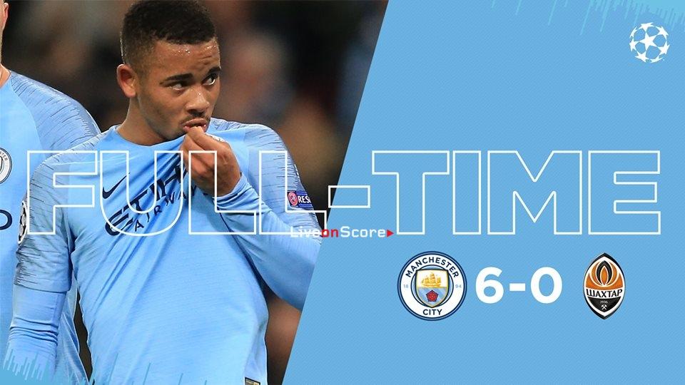 Manchester City 6-0 Shakhtar Donetsk Full Highlight Video – Uefa Champions League 2018/2019