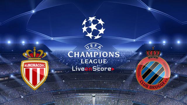 Image result for AS Monaco vs Club Brugge UEFA Champions League 2018 Live