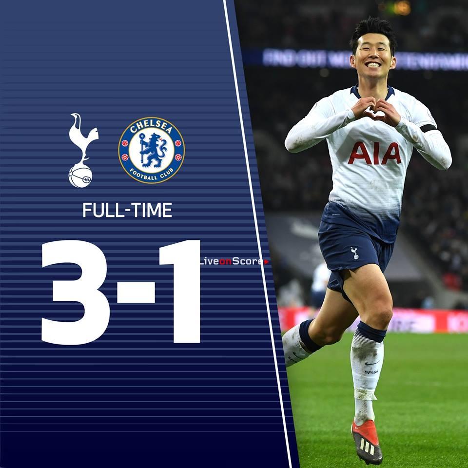 Chelsea Fc Latest News: Tottenham Hotspur 3-1 Chelsea FC Full Highlight Video