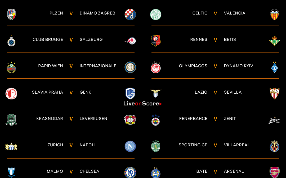 Europa League 20 21