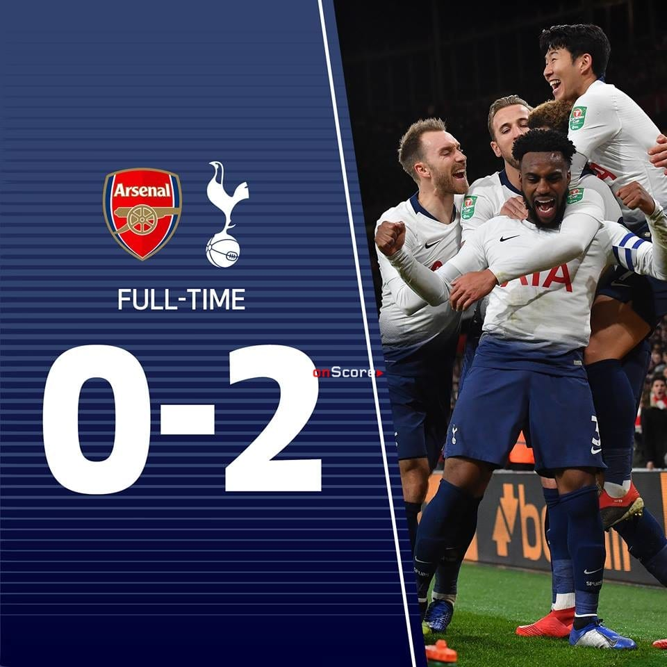 Tottenham Vs Ajax Results: Arsenal 0-2 Tottenham Hotspur Full Highlight Video