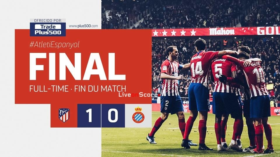 Atletico Madrid 1 0 Rcd Espanyol Full Highlight Video Laliga Santander 2018 2019