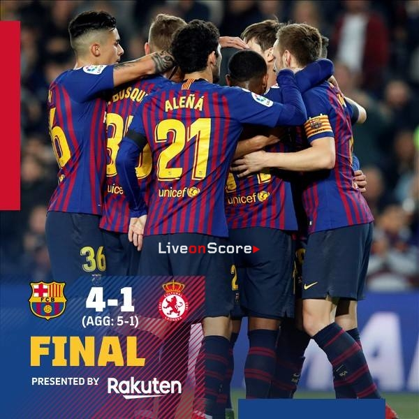 Barcelona 4-1 Leonesa Full Highlight Video – Copa del Rey 2018/2019