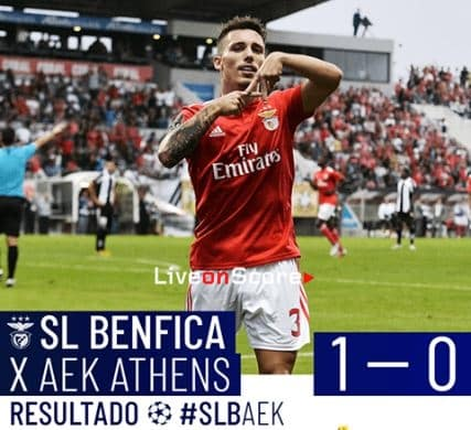 Benfica 1-0 AEK Athens Full Highlight Video – Uefa Champions League 2018/2019