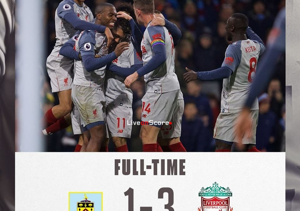 Burnley 1-3 Liverpool Full Highlight Video – Premier League 2018/2019