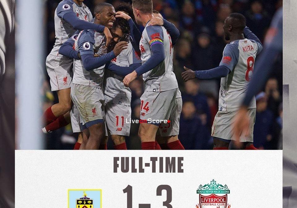 Burnley 1-3 Liverpool Full Highlight Video – Premier League 2018/2019