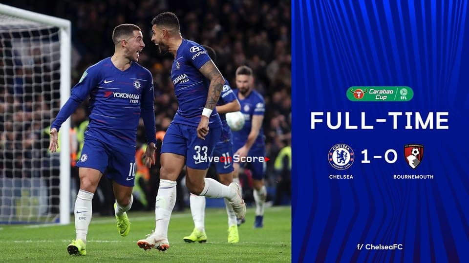 Chelsea 1-0 AFC Bournemouth Full Highlight Video – Carabao Cup 2018/2019