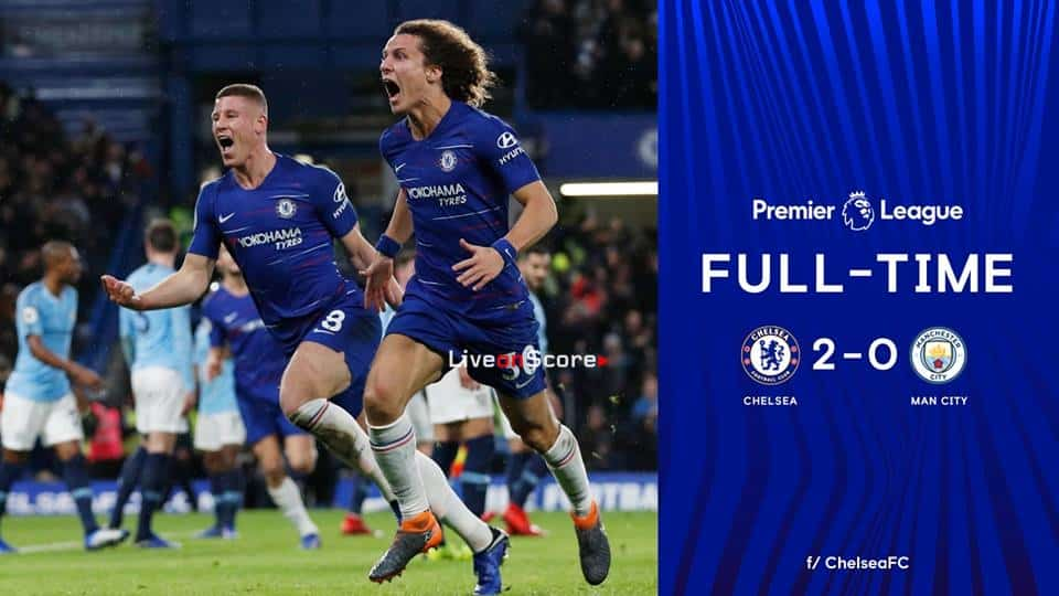 Chelsea FC 2 0 Manchester City Full Highlight Video Premier League 2018 2019
