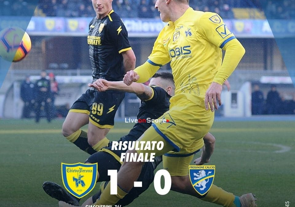 Chievo 1-0 Frosinone Full Highlight Video – Serie A 2018/2019