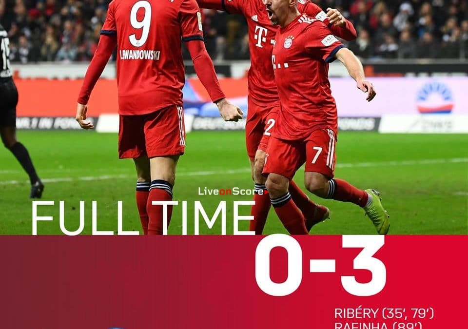 Eintracht Frankfurt 0-3 FC Bayern München Full Highlight Video – Bundesliga 2018/2019