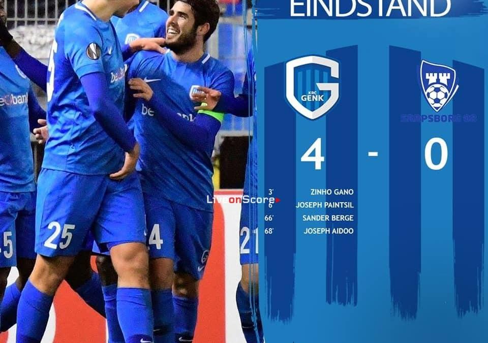 Genk 4-0 Sarpsborg 08 Full Highlight Video – Uefa Europa League 2018/2019