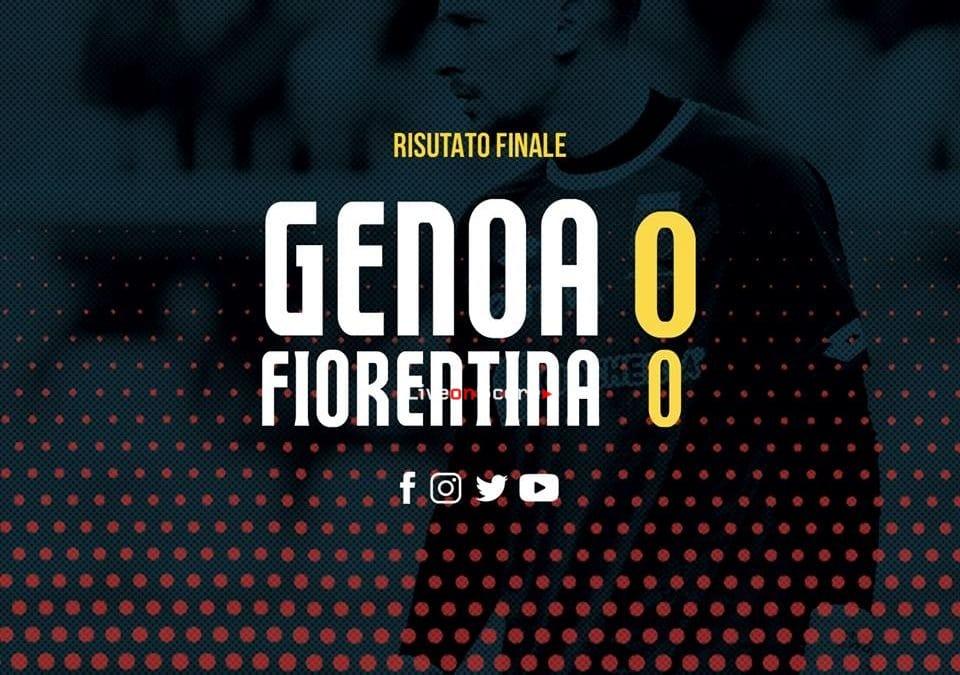Genoa 0-0 Fiorentina Full Highlight Video – Serie A 2018/2019