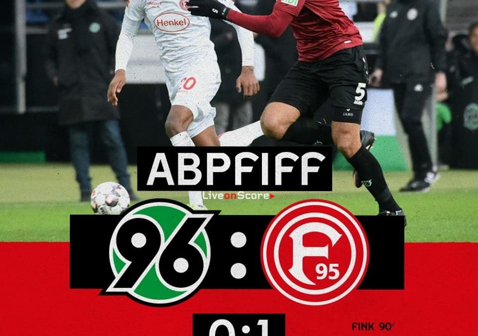 Hannover 96 0-1 Fortuna Düsseldorf Full Highlight Video – Bundesliga 2018/2019