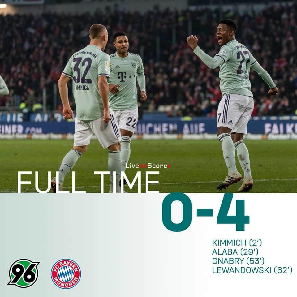 Bayern Gegen Hannover 2021
