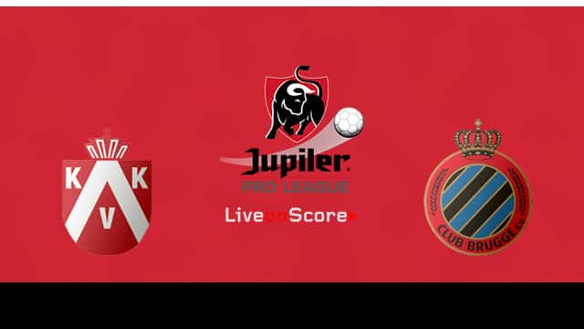 Kortrijk Vs Club Brugge KV Preview And Prediction Live Stream Jupiler League