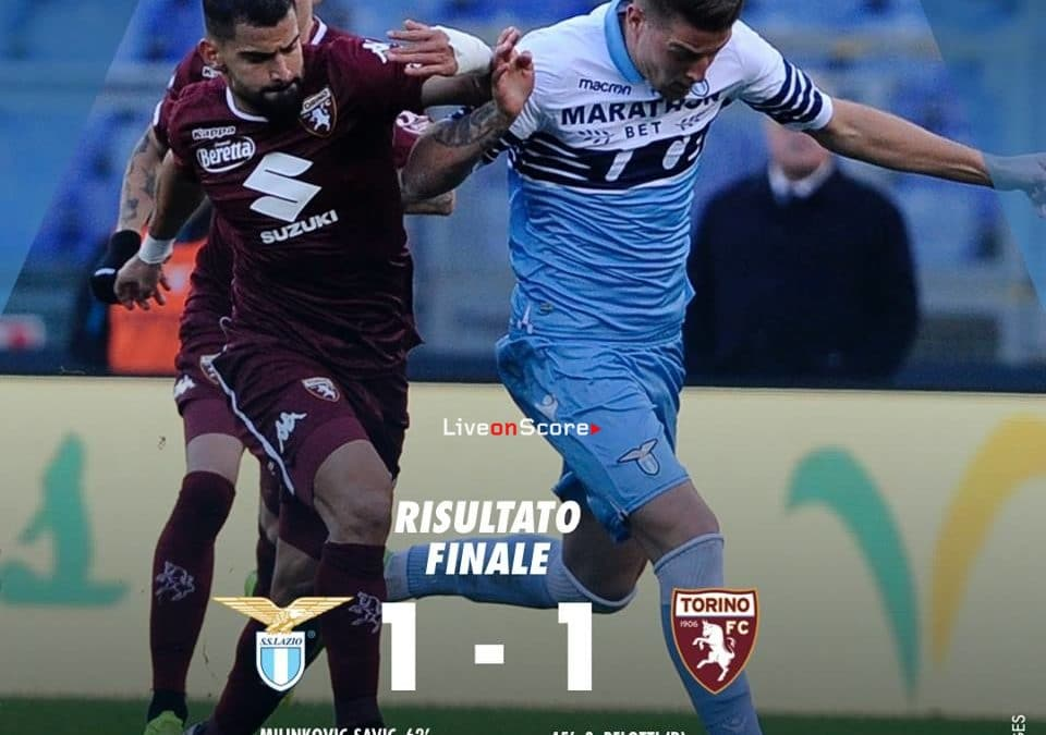 Lazio 1-1 Torino Full Highlight Video – Serie A 2018/2019