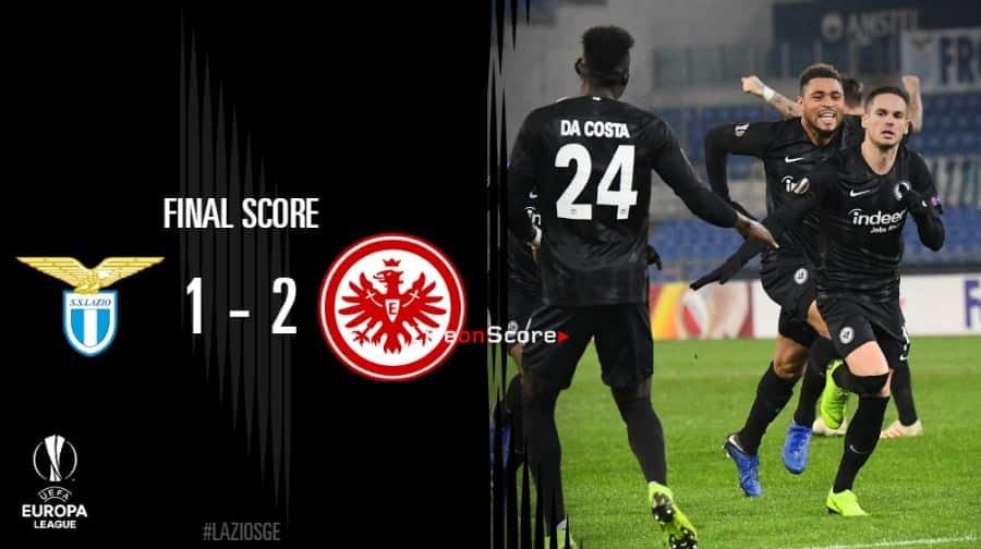 Lazio 1-2 Eintracht Frankfurt Full Highlight Video – Uefa Europa League 2018/2019