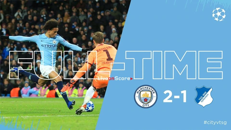 Manchester City 2-1 Hoffenheim Full Highlight Video – Uefa Champions League 2018/2019
