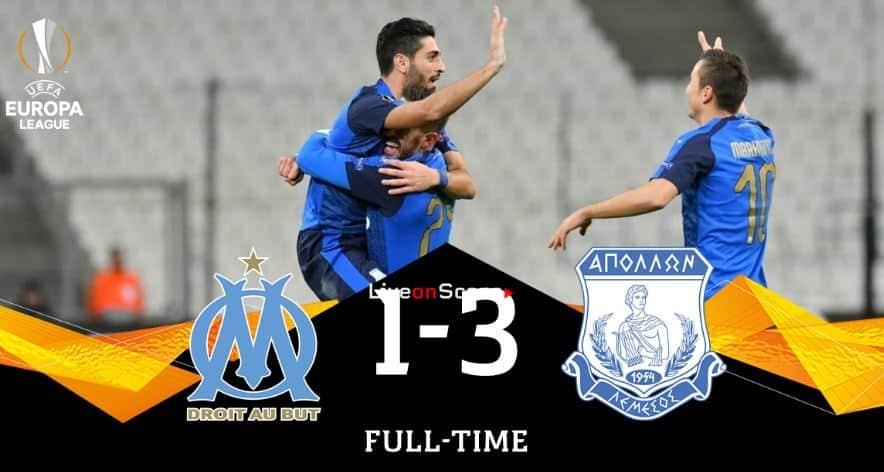 Marseille 1-3 Apollon Limassol Full Highlight Video – Uefa Europa League 2018/2019