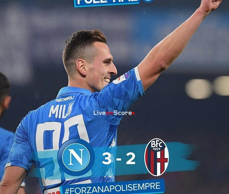 Napoli 3-2 Bologna Full Highlight Video – Serie A 2018/2019