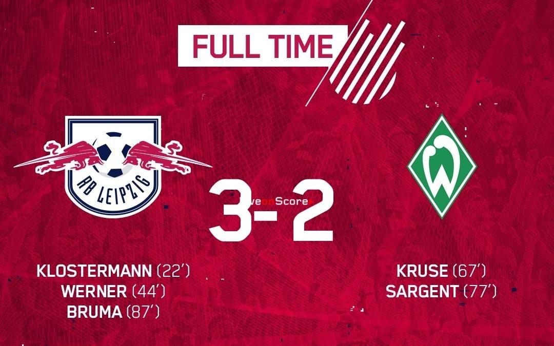 RasenBallsport Leipzig 3-2 Werder Bremen Full Highlight Video – Bundesliga 2018/2019