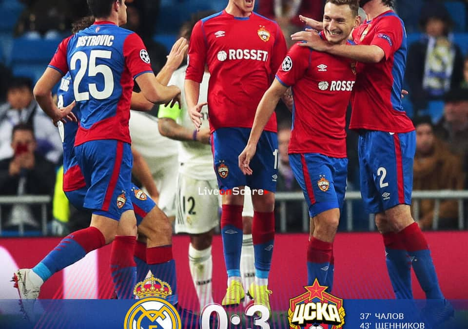 Real Madrid 0-3 CSKA Moscow Full Highlight Video – Uefa Champions League 2018/2019