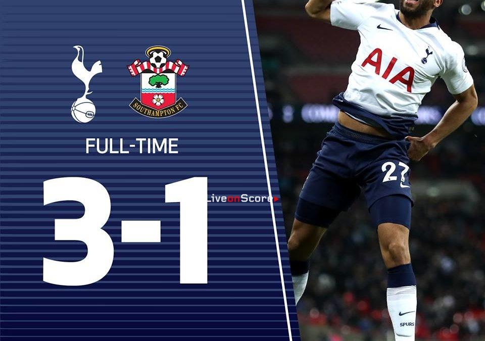 Tottenham Hotspur 3-1 Southampton Full Highlight Video – Premier League 2018/2019