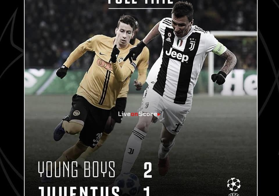 Young Boys 2-1 Juventus Full Highlight Video – Uefa Champions League 2018/2019