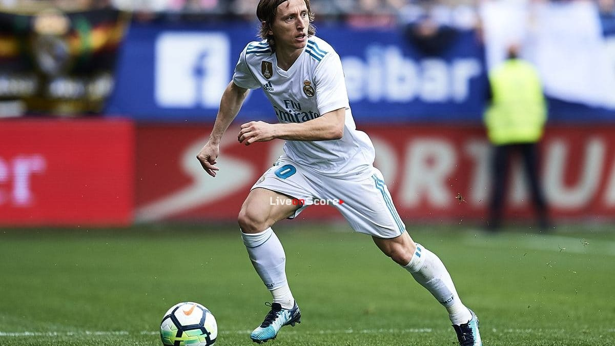 Modric's best year for assists