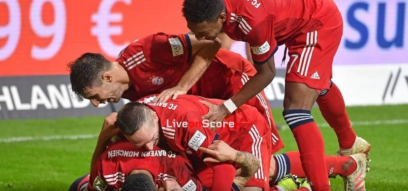 Bayern lay down right marker at the right time