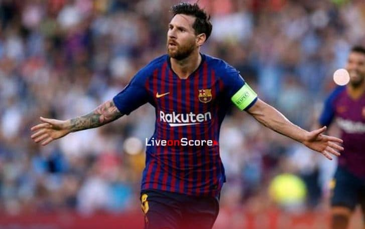 Messi is 2018's top goalscorer