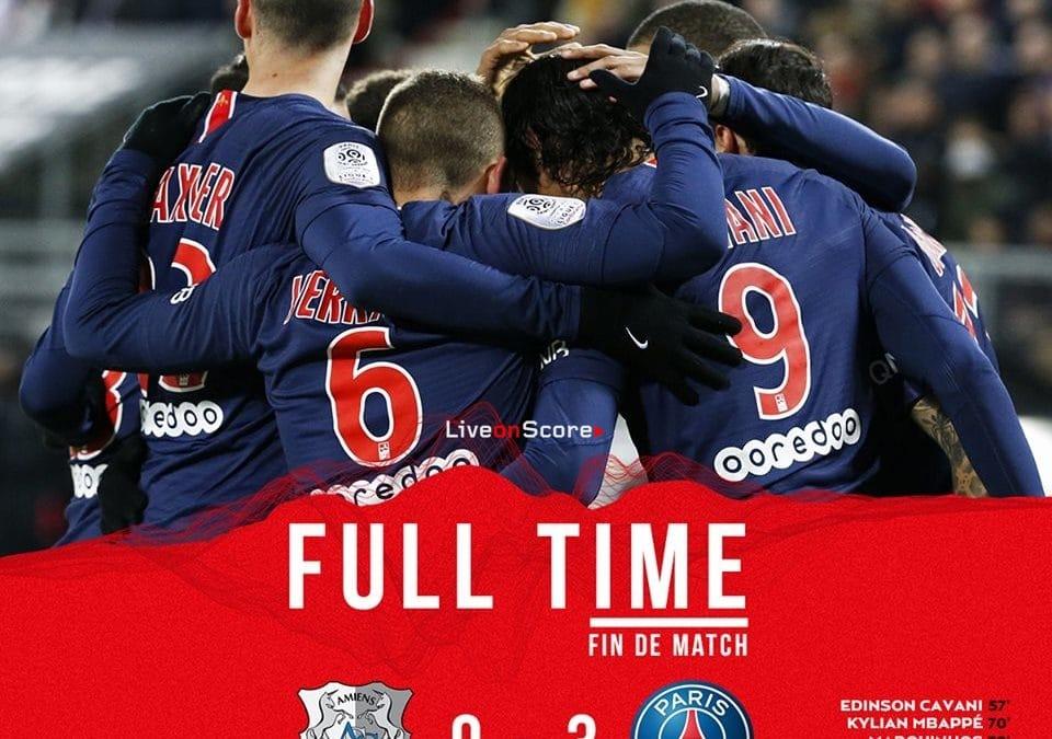 Amiens 0-3 Paris Saint-Germain Full Highlight Video – Ligue 1 2019