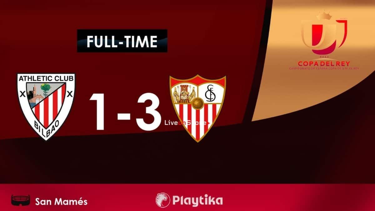 Athletic Bilbao 1-3 Sevilla Full Highlight Video Copa del Rey  2019