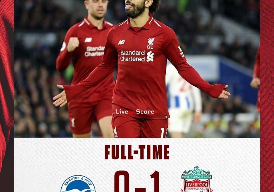 Brighton & Hove Albion 0-1 Liverpool Full Highlight Video – Premier League 2019